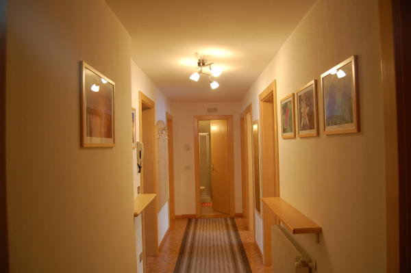 Le parti comuni Appartamento Puez