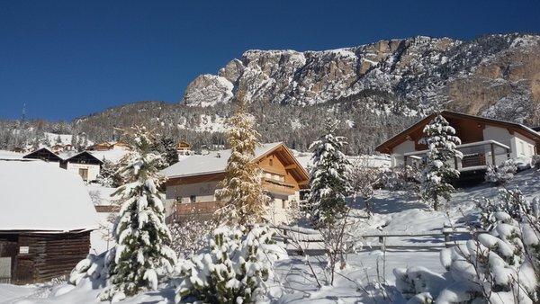 Foto esterno in inverno Puez