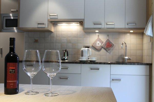 Foto della cucina Stoffelapartments