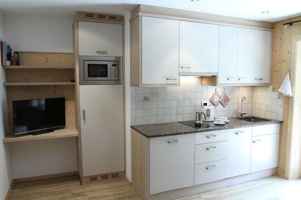 Foto der Küche Stoffelapartments