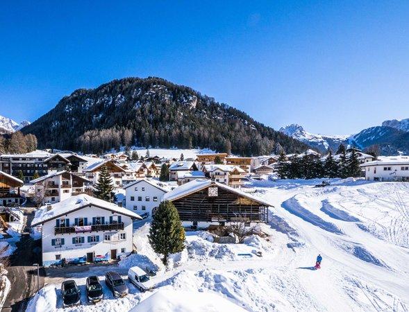 Foto invernale di presentazione Appartamento Tieja