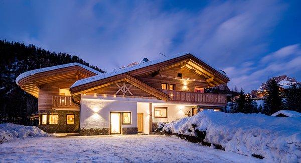 Foto invernale di presentazione Appartamenti Piciulei