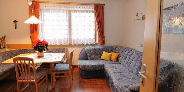 La zona giorno Rosalpina - Appartamenti 3 soli