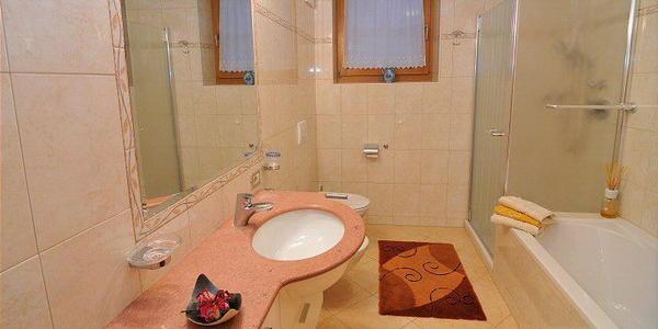 Foto del bagno Appartamenti Rosalpina