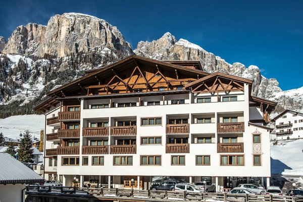 Winter Präsentationsbild Hotel Gran Ciasa
