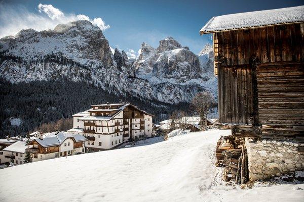 Foto Außenansicht im Winter Gran Ciasa