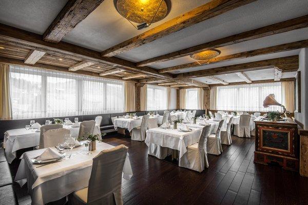 Das Restaurant Colfosco Gran Ciasa