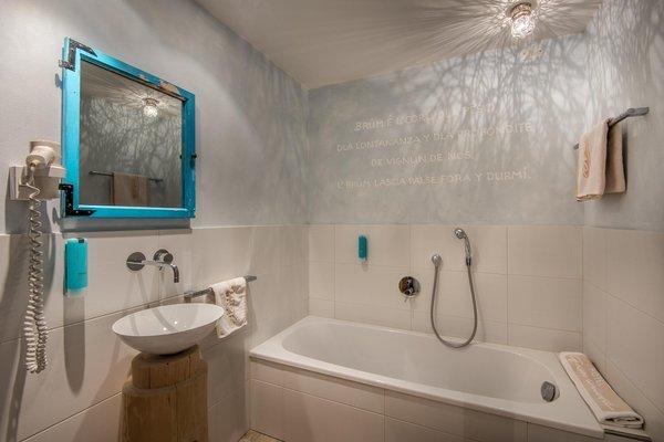 Foto del bagno Hotel Gran Ciasa
