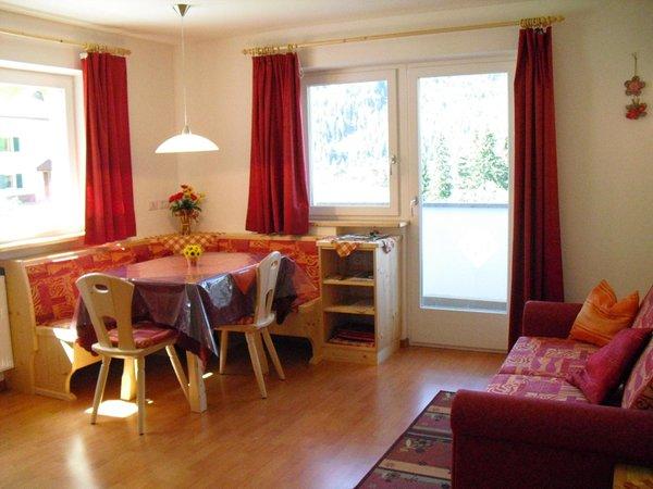 La zona giorno Appartamenti Helene