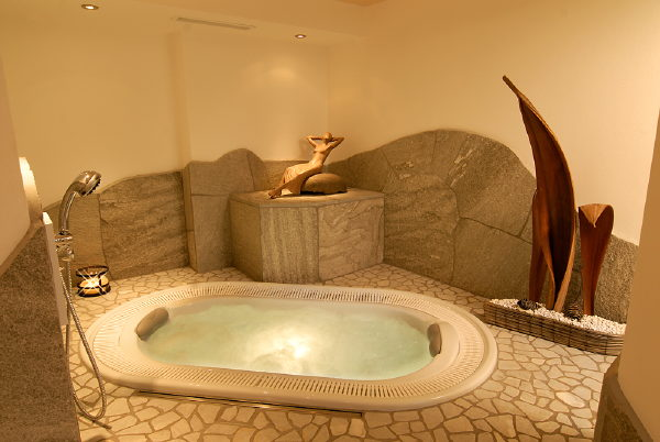 Photo of the wellness area B&B (Garni) + Apartments Aghél