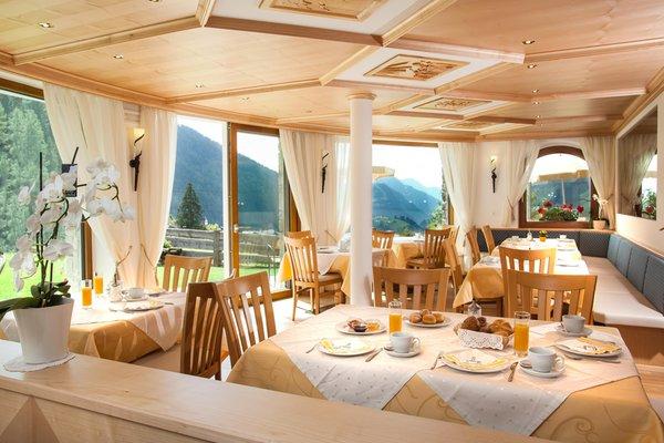 Il ristorante Selva Gardena Aghél