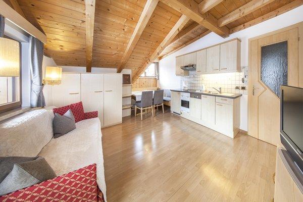 The living area B&B (Garni) + Apartments La Majon & Dependance