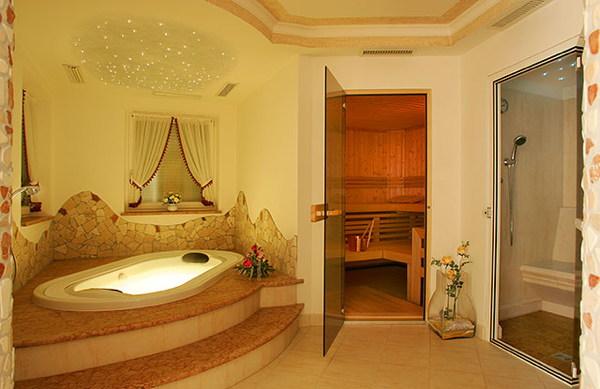 Photo of the wellness area B&B (Garni) + Apartments La Majon & Dependance