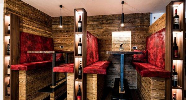 Il ristorante Selva Gardena Garni-Hotel Soraiser Dolomites Small & Luxury
