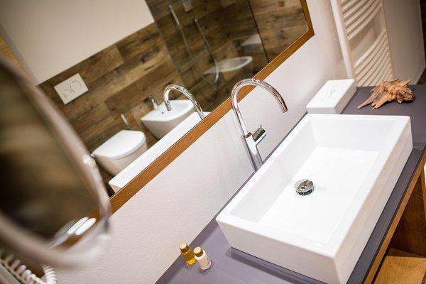 Foto del bagno Garni-Hotel Soraiser Dolomites Small & Luxury
