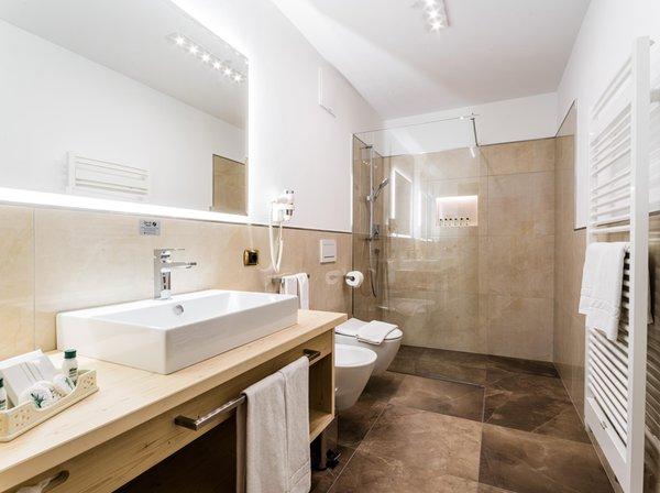 Foto del bagno Garni-Hotel + Residence Wildbach