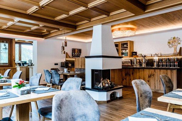 Il ristorante Selva Gardena Wildbach