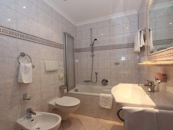 Foto del bagno Hotel Gran Fanes