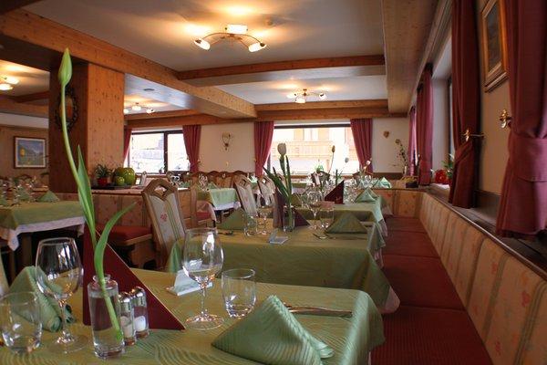 Il ristorante Corvara Gran Fanes
