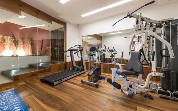 Foto della zona fitness Hotel Carmen