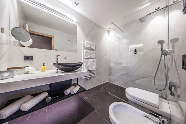 Foto del bagno Hotel Carmen