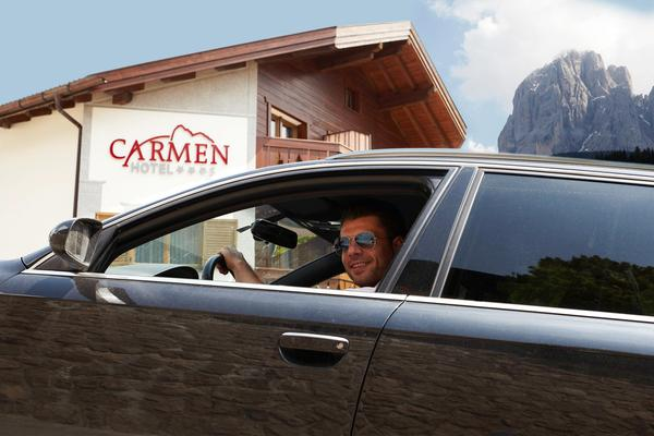 Foto esterno Hotel Carmen