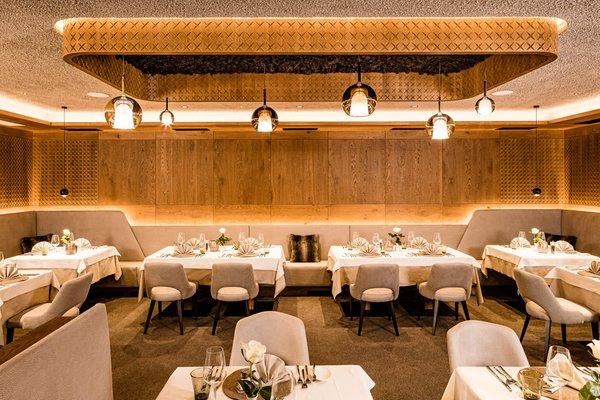 Il ristorante Santa Cristina Touring Dolomites