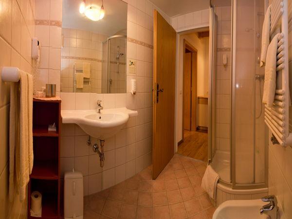 Foto del bagno Hotel Solaia