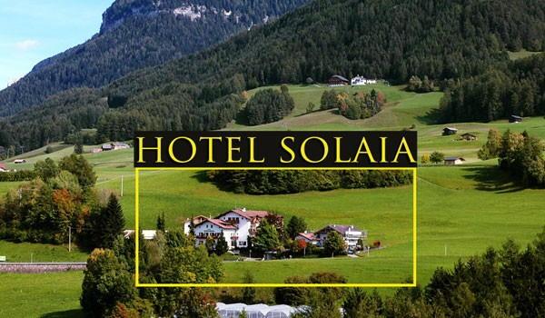 La posizione Hotel Solaia Castelrotto