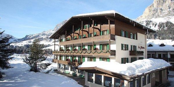 Foto invernale di presentazione Hotel La Plaza