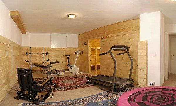 Foto della zona fitness Appartamenti Etruska