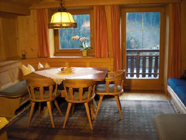 La zona giorno Appartamenti Elbrus