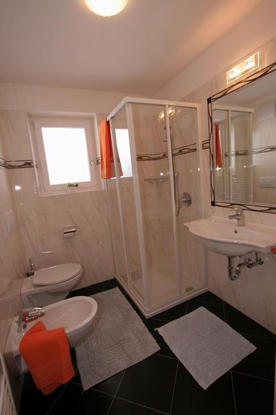 Foto del bagno Appartamenti Steinrose
