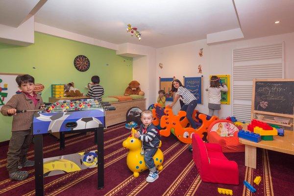 La sala giochi Hotel Maria