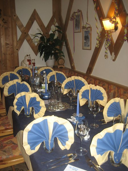 Il ristorante Corvara Maria