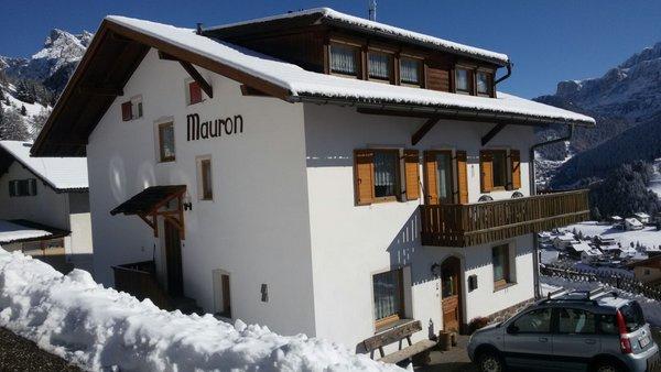 Foto invernale di presentazione Mauron - Appartamenti 2 soli
