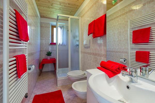 Foto del bagno Appartamenti Mauron