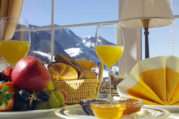 The breakfast Alpenheim Charming & SPA Hotel - Hotel 4 stars