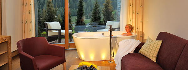 The living room Alpenheim Charming & SPA Hotel - Hotel 4 stars