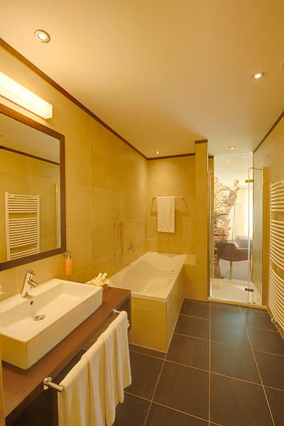 Photo of the bathroom Alpenheim Charming & SPA Hotel
