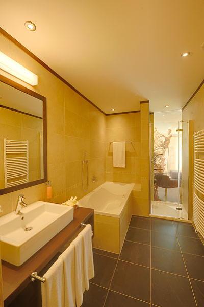 Foto del bagno Alpenheim Charming & SPA Hotel