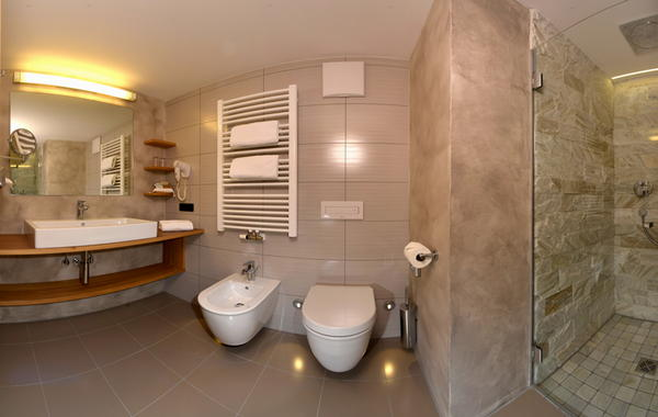Foto del bagno Hotel Grien