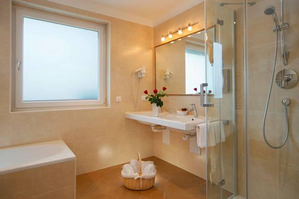 Foto del bagno Hotel Grones