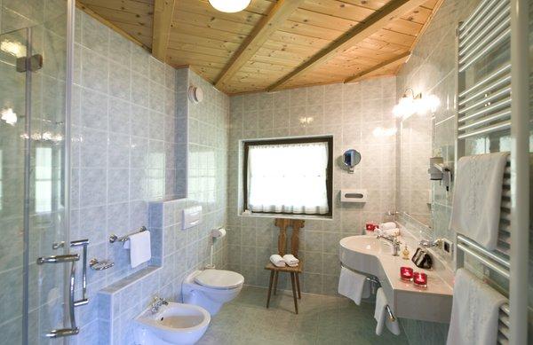 Foto del bagno Hotel Ansitz Jakoberhof