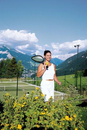 Foto della zona fitness Hotel Albion Mountain Spa Resort Dolomites