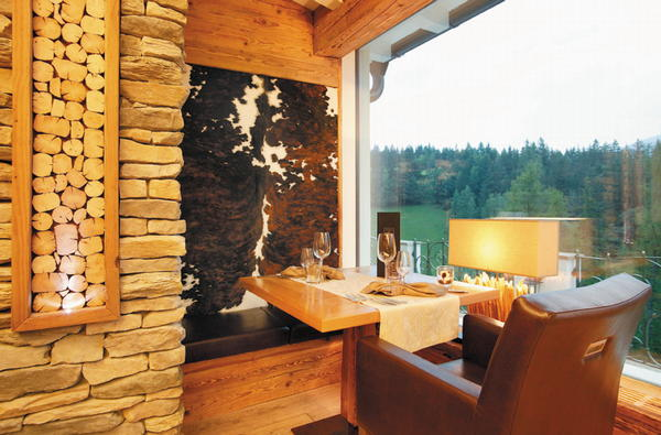 Das Restaurant St. Ulrich Albion Mountain Spa Resort Dolomites