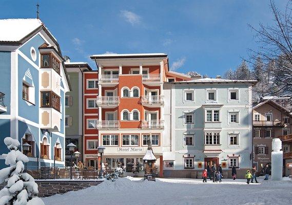 Foto invernale di presentazione Hotel Maria