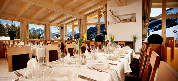 Das Restaurant St. Ulrich Pinei Nature & Spirit