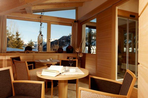 Die Gemeinschaftsräume Hotel Pinei Nature & Spirit