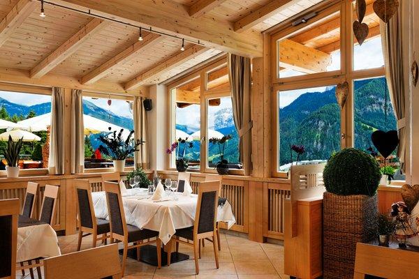 Il ristorante Ortisei Pinei Nature & Spirit
